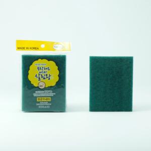 Cọ rửa bát kháng khuẩn đa năng Mr King loai nhỏ (túi 3 miếng) phugiatrading.com