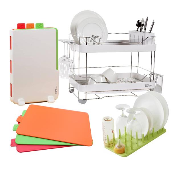 Thớt nhựa - Giá úp bát đĩa