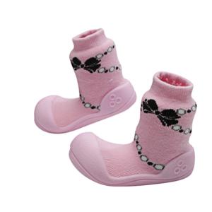 Giầy tập đi Attipas French Pearl Pink AFP01 - Sỉ giầy cho bé tập đi Hàn Quốc