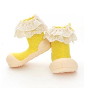 Giầy tập đi Attipas Lady Yellow - AW01 - Sỉ giầy cho bé tập đi Hàn Quốc