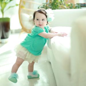 Giầy tập đi Attipas New Corsage xanh AK01 - Sỉ giầy cho bé tập đi Hàn Quốc