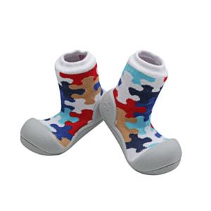 Giầy cho bé tập đi Attipas Puzzle - Sỉ giầy tập đi Attipas - Giầy trẻ em cao cấp