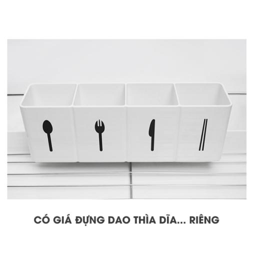 Giá úp bát mini cao cấp Naturnic Hàn Quốc 1 tầng - phugiatrading.com