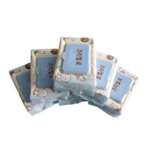 Giấy ướt hàn quốc natural soft có nắp 70 tờ - giấy ướt cao cấp - sỉ khăn giấy ướt