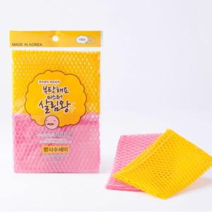 Miếng cọ rửa sợi lưới Mr. King Hàn Quốc - Sỉ miếng rửa bát toàn quốc - phugiatrading.com