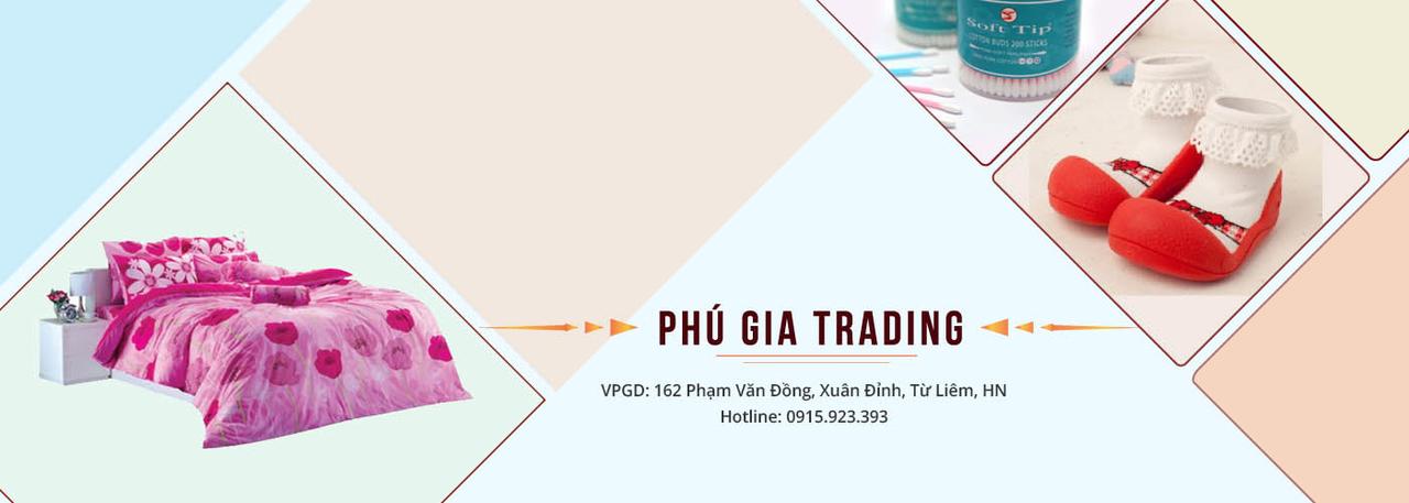 Banner Phú Gia - Chuyên phân phối hàng tiêu dùng nhập khẩu tại Việt nam